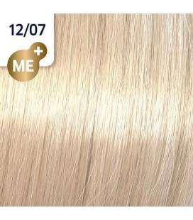 Краска для волос 12/07 Wella Koleston ME+ Натурально-коричневый 60 мл