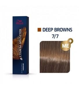 Краска для волос 7/7 Wella Koleston ME+ Средний блондин коричневый 60 мл