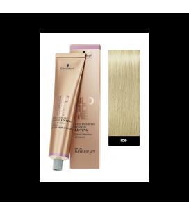 Осветляющий бондинг-крем для седых волос Лед Schwarzkopf Blondme White Blending W-Ice 60 мл