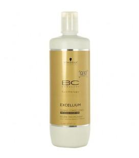 Шампунь смягчающий Schwarzkopf BC Q10 Excellium Taming Shampoo 1000 мл