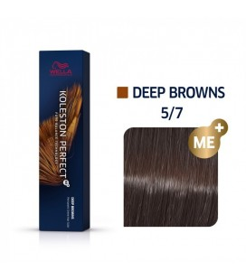 Краска для волос 5/7 Wella Koleston ME+ Светло-коричневый коричневый 60 мл