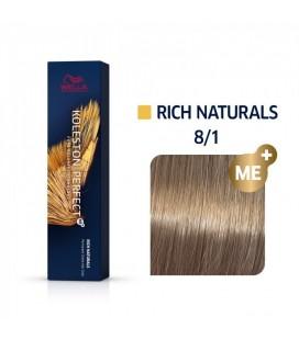 Краска для волос 8/1 Wella Koleston ME+ Светлый пепельный блондин 60 мл