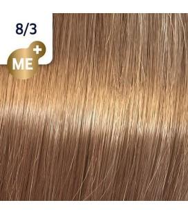 Краска для волос 8/3 Wella Koleston ME+ Светлый блондин  золотистый 60 мл