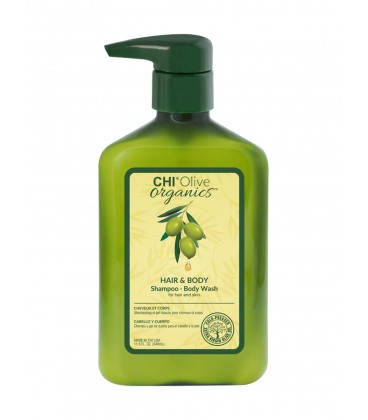 Шампунь для волос и тела CHI Olive Organics Hair and Body Shampoo Body Wash 340 мл