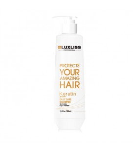 Шампунь с кератином LuxLiss Keratin Smoothing Daily Shampoo 500 мл
