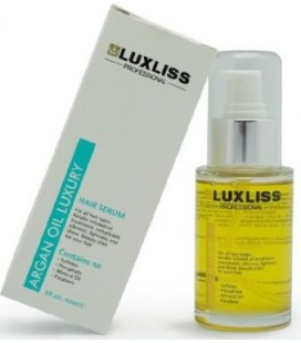 Кератиновая сыворотка с аргановым маслом Luxliss Argan oil hair serum 60 мл