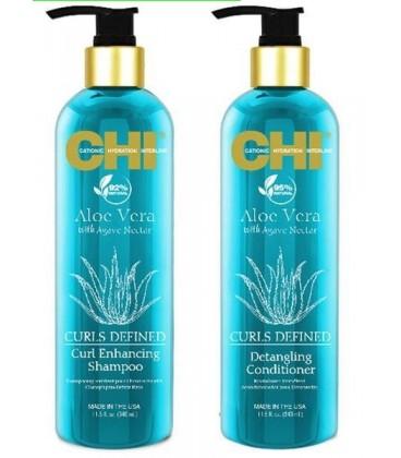 Кондиционер для кудрявых волос CHI Aloe Vera Curl Detangling Conditioner 739 мл