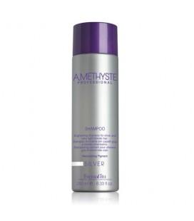 Шампунь для седых и осветленных волос FarmaVita Amethyste Silver Shampoo 250 мл