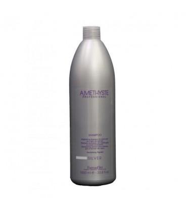 Шампунь для седых и осветленных волос FarmaVita Amethyste Silver Shampoo 1000 мл