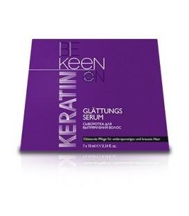 Сыворотка для выпрямления волос Keen Keratin 7х10 мл
