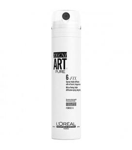 L'Oreal Tecni Art Лак Six Fix Спрей фиксирующий без запаха ультра сильной фиксации 250 мл