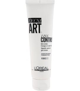 L'Oreal Tecni Art Гель-крем Liss Control д/гладкости с антистатичным эффектом 150 мл