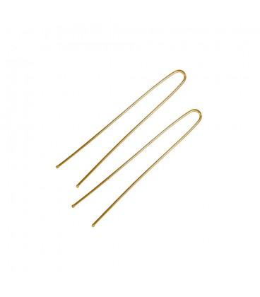 Шпильки ровные коричневые 60 мм TICO Professional 500 г 300561